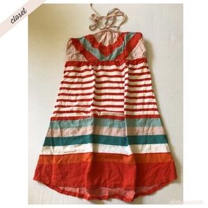 [Roxy] Juniors Striped Dress Cover-Up